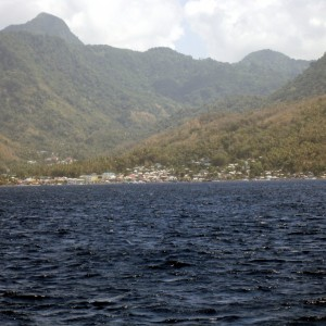 our  photo.  St. Lucia & Pitons