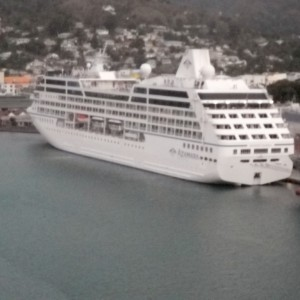 Honey's  photo.  St. Lucia sailaway