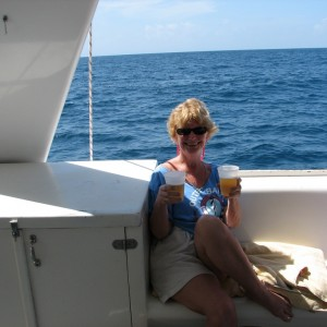 Our photo. St. Kitts &  cat to Nevis