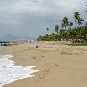 Our photo.  Nevis.