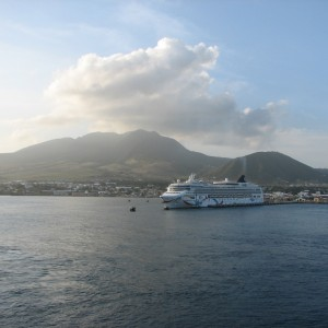 Our photo. cat to Nevis.