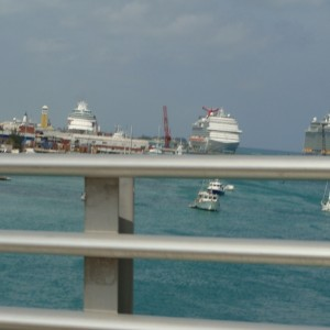 Nassau - view from the bridge