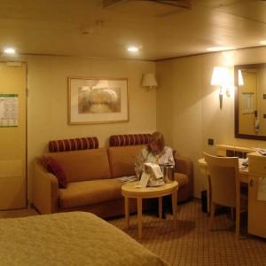 Queen Victoria cabin 1074