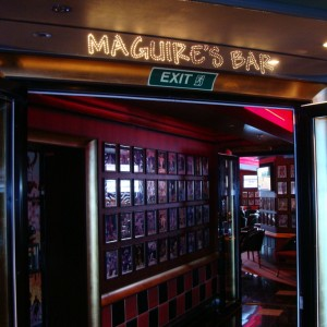 Maguires Sports Bar (deck 2 fwd)