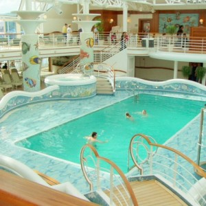 And yet another pool aboard the Star Princess.