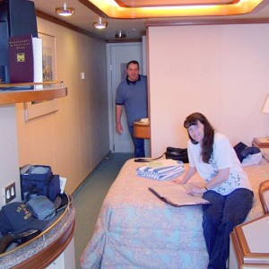 We were in a minisuite stateroom aboard the Star Princess.