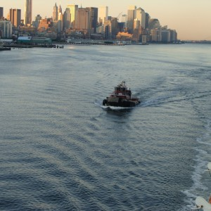 Return to NYC - Tugboat Escort