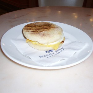 Egg McMuffin International Cafe Ruby Princess