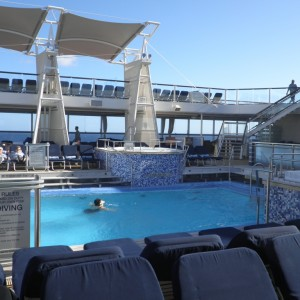 Pool deck on Eclipse