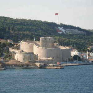 Through the Dardanelles