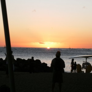 One Evening in Kaanapali