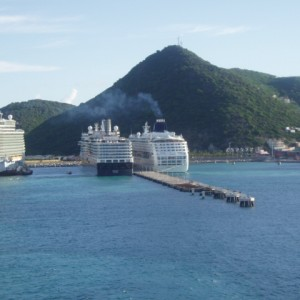 Docking in St. Marteen