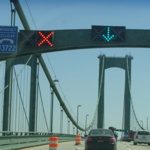 Crossing the Delaware Memorial Bridge