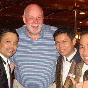Me with Elmer, Larssen, & Minggus