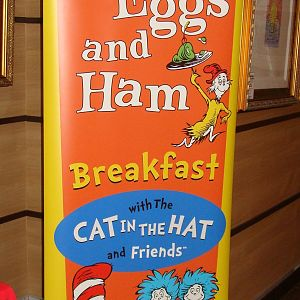 Green Eggs and Ham Breakfast reservtions