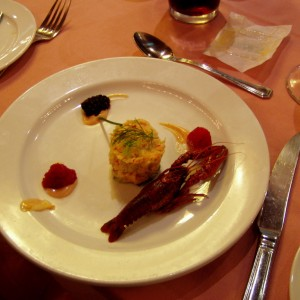 A tasty appetizer