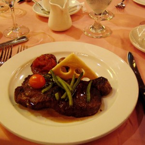 There's nothing like a good steak.