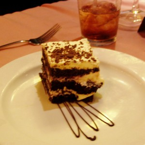 Always room for desert
